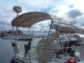 Gemini Strapless Bimini Kit At Ahoycaptain Com