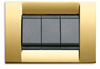 vIMAR Idea Square Metal Gold
