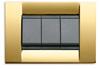 vIMAR Idea Square Metal Gold