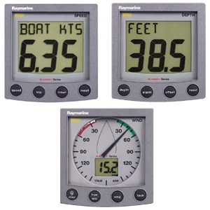 Raymarine St60 Plus Sail Package W Speed Depth Amp Wind